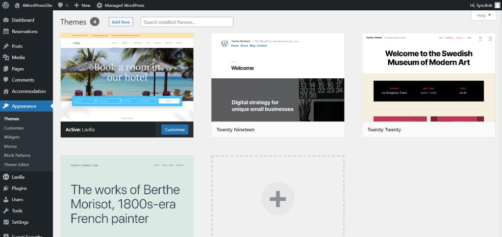Vacation Rental WordPress Set Up
