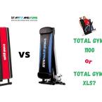 Total Gym 1100 1100 vs XLS