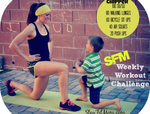 Stay Fit Mom offers weekly workouts that you can do for FREE from your home with little or no equipment!