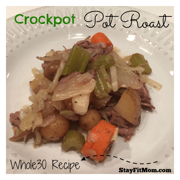 Whole 30 Crockpot Pot Roast