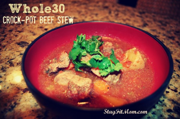 Easy, Whole30 Crockpot Stew