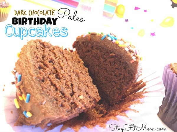 Super Moist and delicious Paleo Cupcakes for birthday