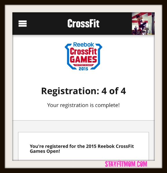 I'm signing up for the 2015 CrossFit open.