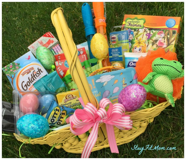Non Candy Kids Easter Basket Ideas