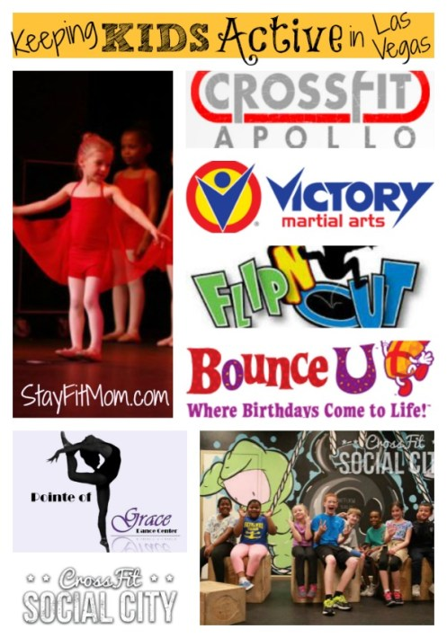 Love these businesses in Las Vegas for keeping kids active!
