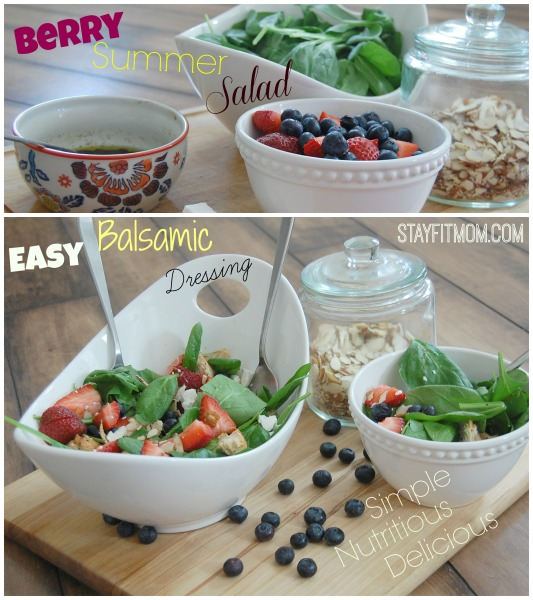 Love this simple, nutritious summer salad!