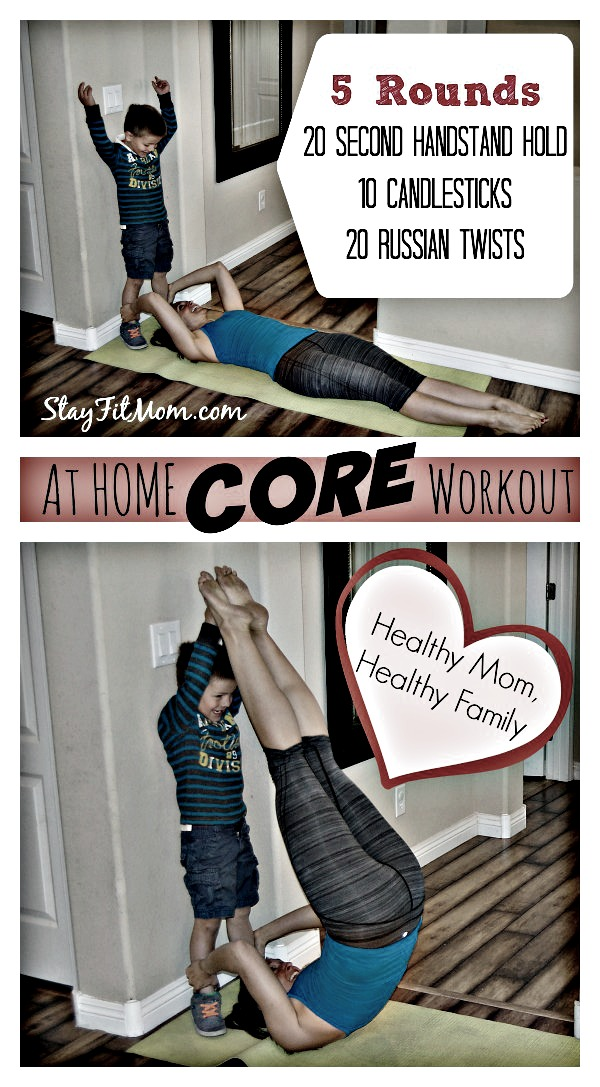 I've got to try this CORE workout when I get home!