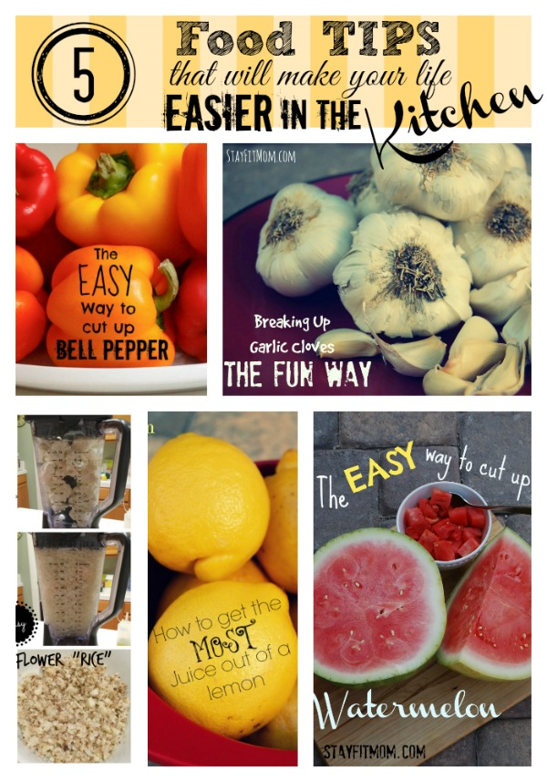 Love these kitchen tips and tricks from stayfitmom.com!