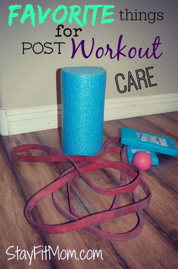 Great ideas for taking care of your body post-workout. from StayFitMom.com
