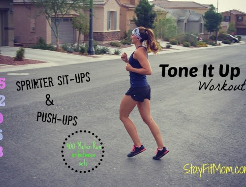 I've gotta try this Tone It Up Workout when I get home! I love these at home workouts from StayFitMom.com