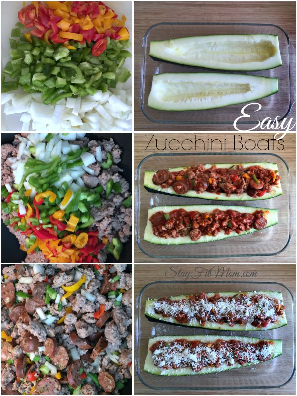 These zucchini boats do look super easy and healthy!
