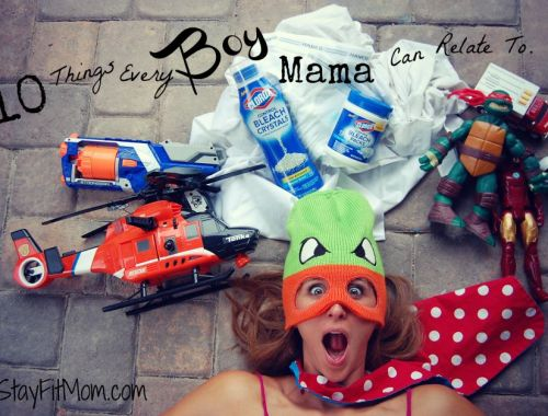 10 Things Every Boy Mama Can Relate to! I could relate to every single one, especially number 2!