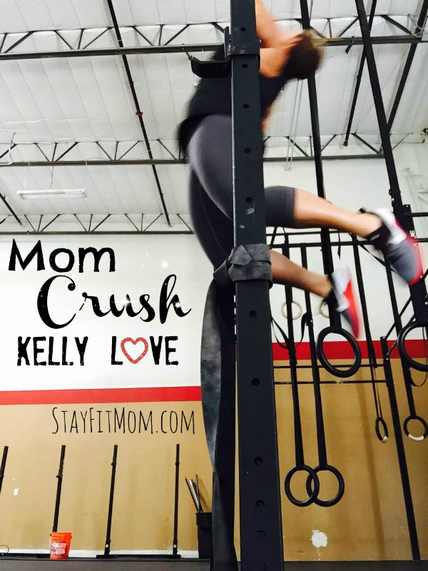 This mom shares her passion for weightlifting, Crossfit and what she wants most for her kids! Love these inspirational moms from Stayfitmom.com