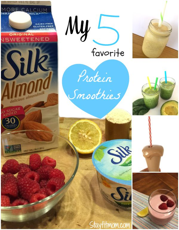 These protein smoothies look pretty AMAZING!! I've got to try these!