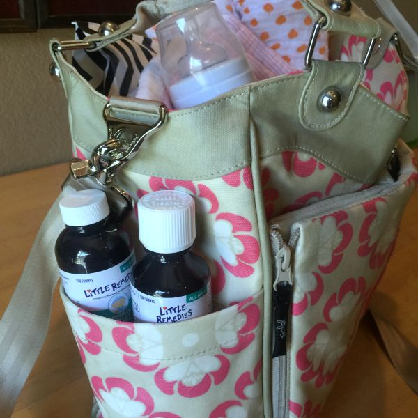Super cute diaper bag!