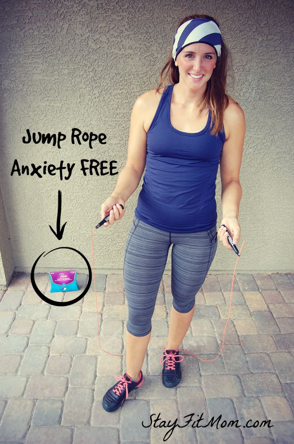 You can have children and still jump rope leak free with Poise Impressa!