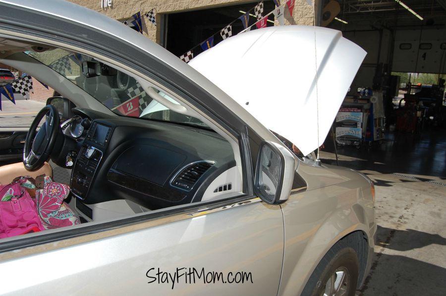 The minivan mom life!