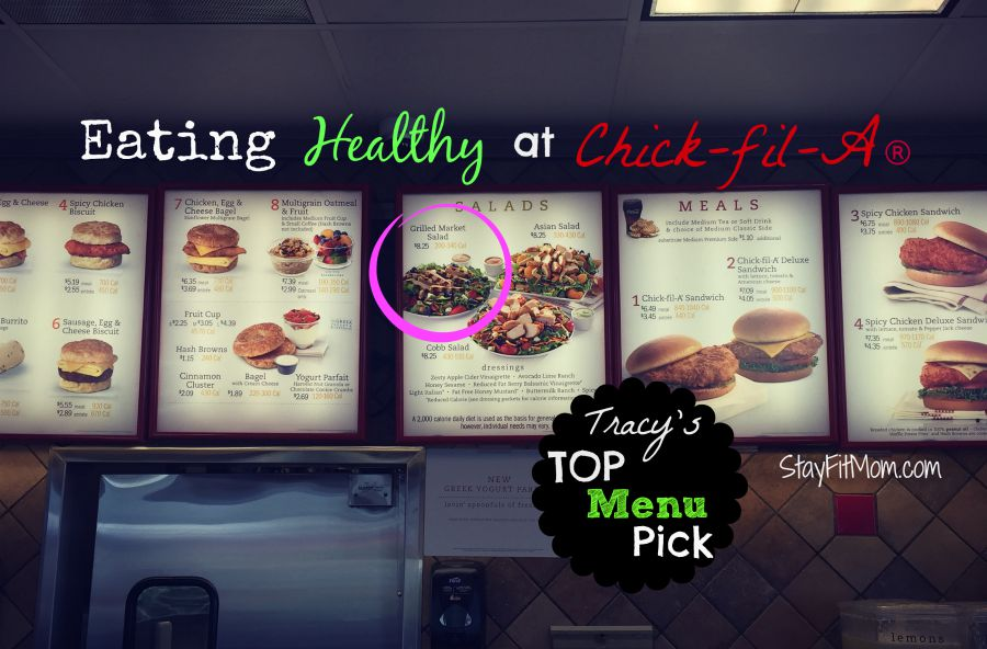 Ever wonder what the best options are for eating out? Stay Fit Mom brings you their favorite healthy menu choices!