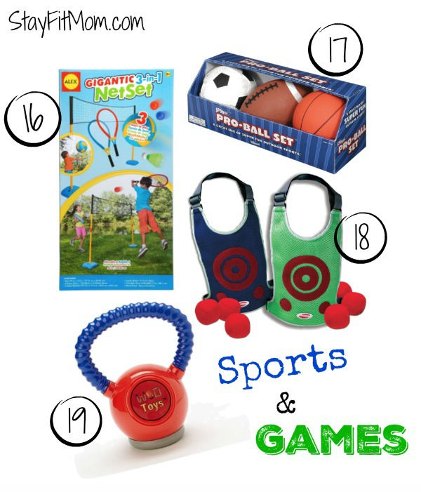 Great gift ideas to keep kids moving from StayFitMom.com