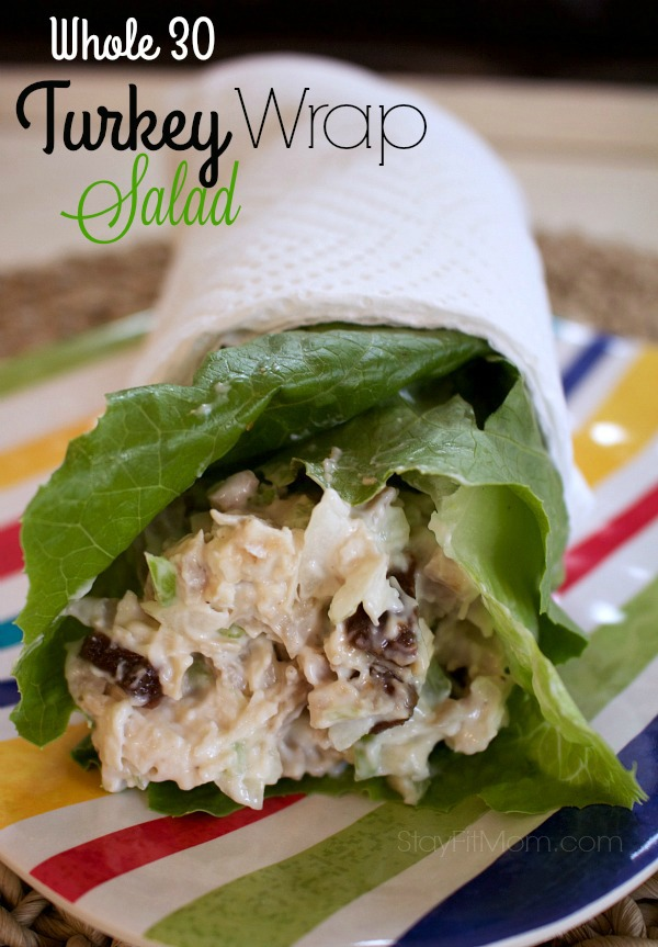 Ditch the carbs and enjoy a healthy lettuce wrap.