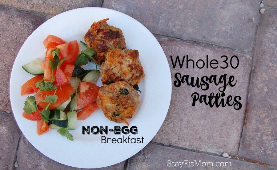 The perfect Whole30 Breakfast option that's egg free; Whole30 Breakfast Sausage