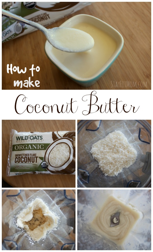 This coconut butter would be great on apples for a snack. Yum!