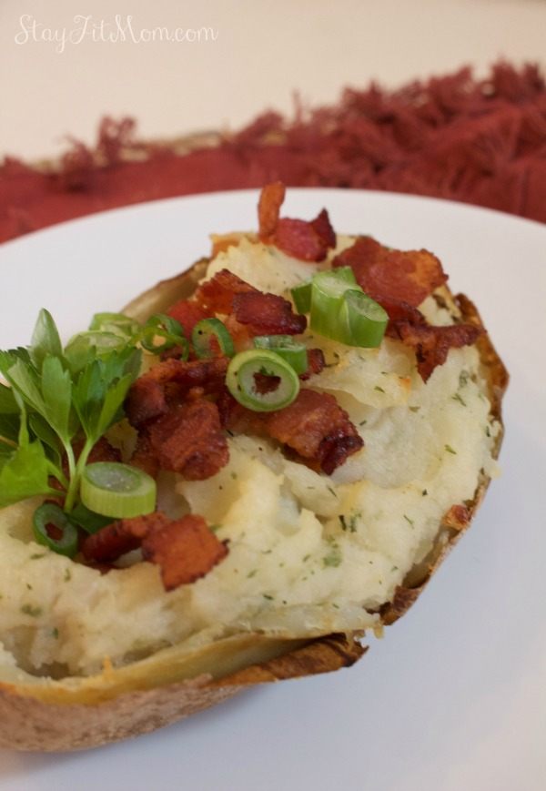 Dairy Free, Whole30 Twice Baked Potatoes Side Dish