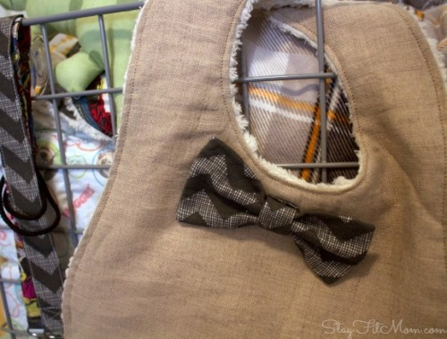 Cute ideas for handmade items to put in a new baby gift basket.