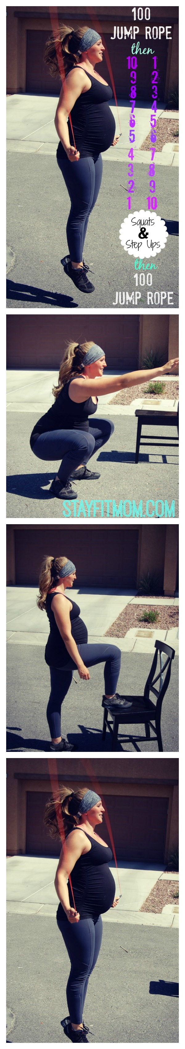 CrossFit workouts for women (even pregnant mamas) from StayFitMom.com.