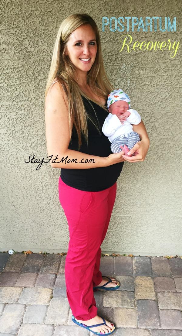 5 steps to a Healthy postpartum journey from StayFitMom.com