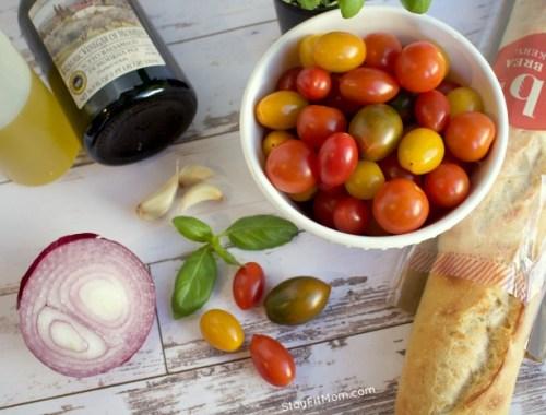 light, macro friendly appetizer or snack