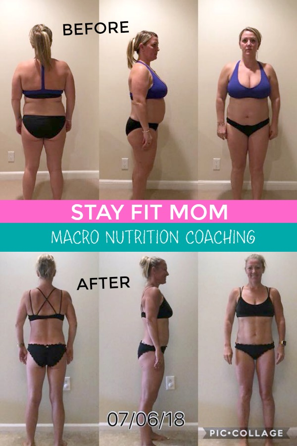 Amazing macro diet transformation photos! #stayfitmom #macrodiet #iifym