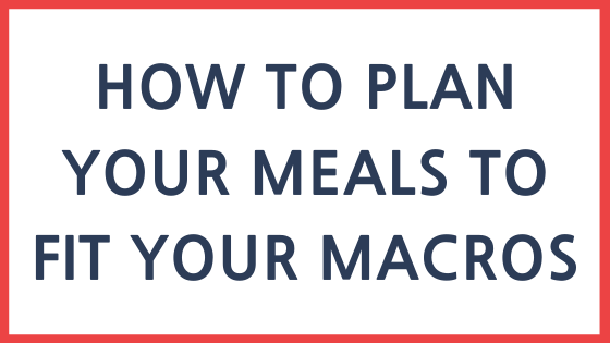 How to plan a full day of eating on the macro diet. #stayfitmom #macrodiet #macros #iifym