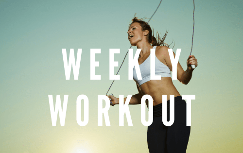 this is a great workout for traveling. All you need is a jump rope! #stayfitmom #crossfitwod #homeworkout