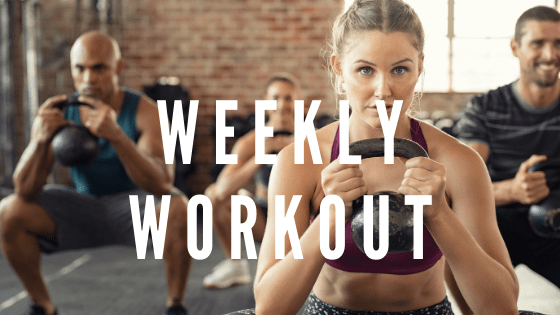 Crossfit style home workouts that require little to no equipment. #stayfitmom #crossfit #homeworkout