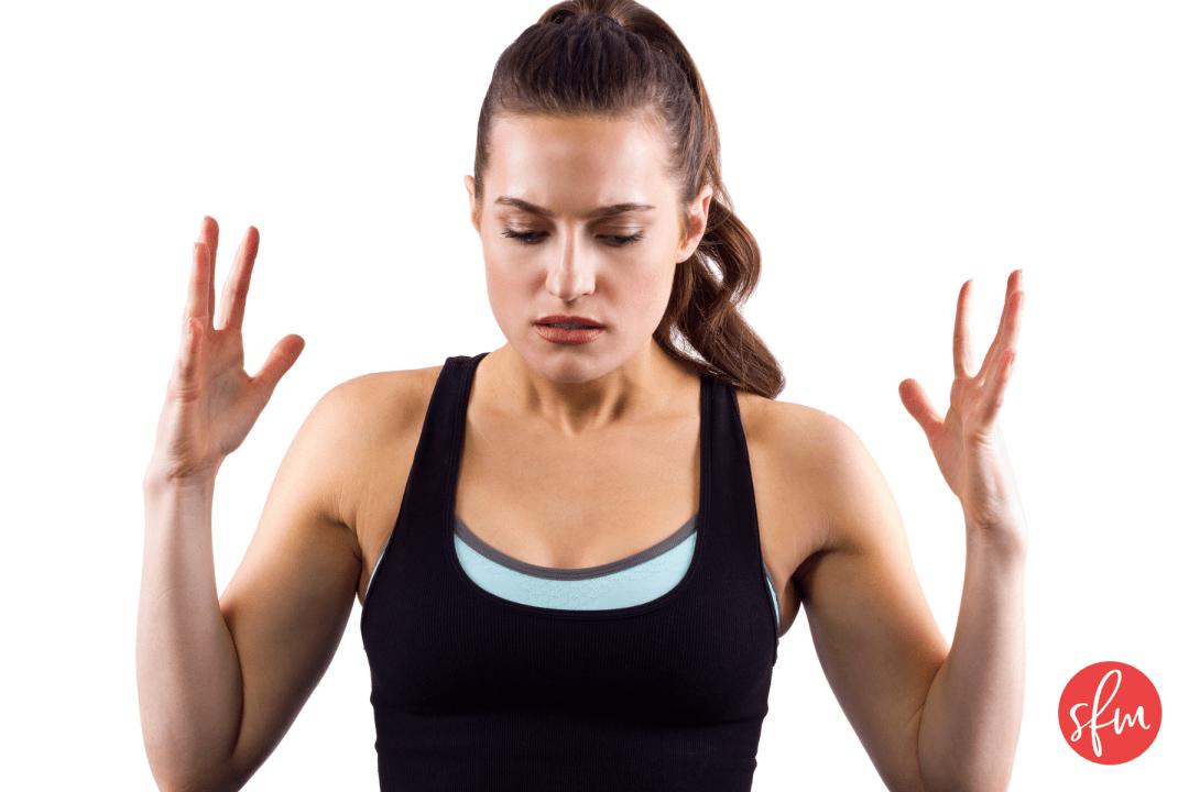 How to get through a weight loss plateau #stayfitmom #weightloss #fatloss #macros
