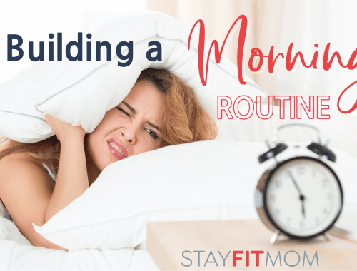 Building a morning routine for success.
