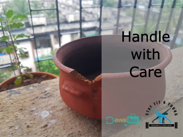 clay pots health Handle with care