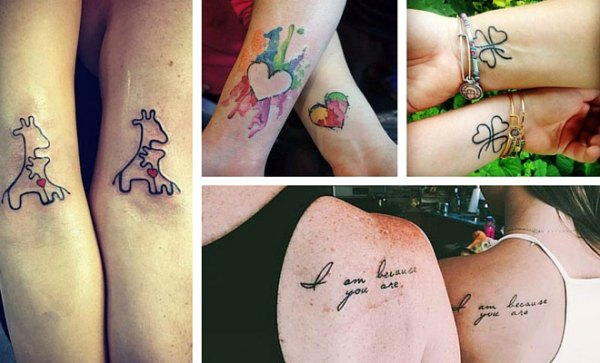 amazing mother daughter tattoos