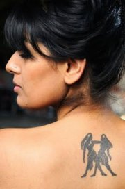 gemini tattoos girls