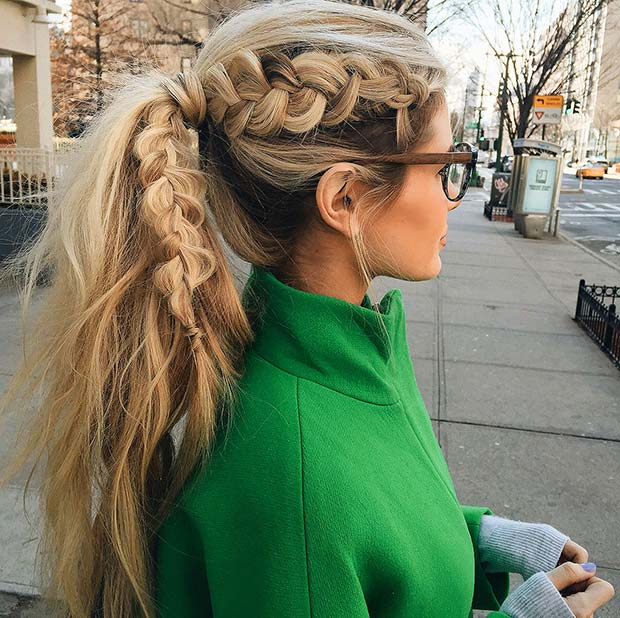 30 Cute Ponytail Hairstyles You Need To Try StayGlam