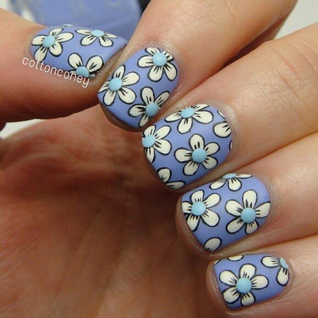 01 32 Valentines Day Nails Art Designs Cute Heart Nail Polish Easy Tutorial Long Short