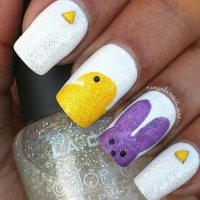 32 Cute Nail Art Designs for Easter | StayGlam
