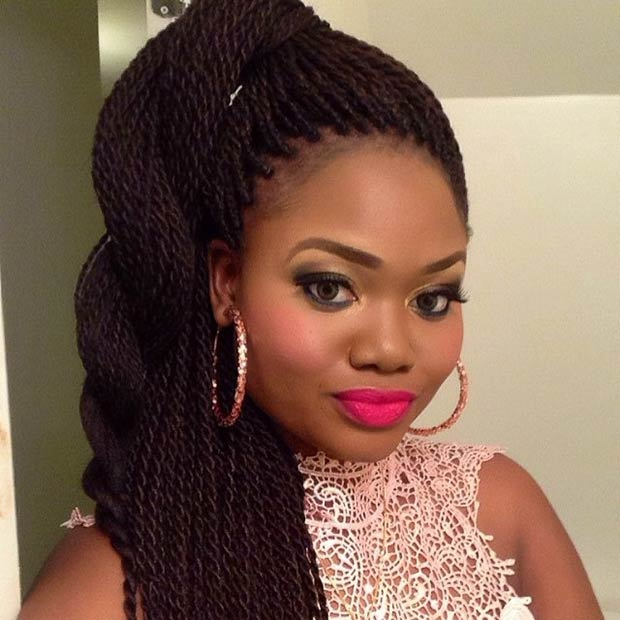 29 Senegalese Twist Hairstyles For Black Women StayGlam