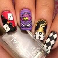 21 Super Cute Disney Nail Art Designs
