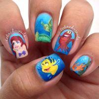 21 Super Cute Disney Nail Art Designs | StayGlam