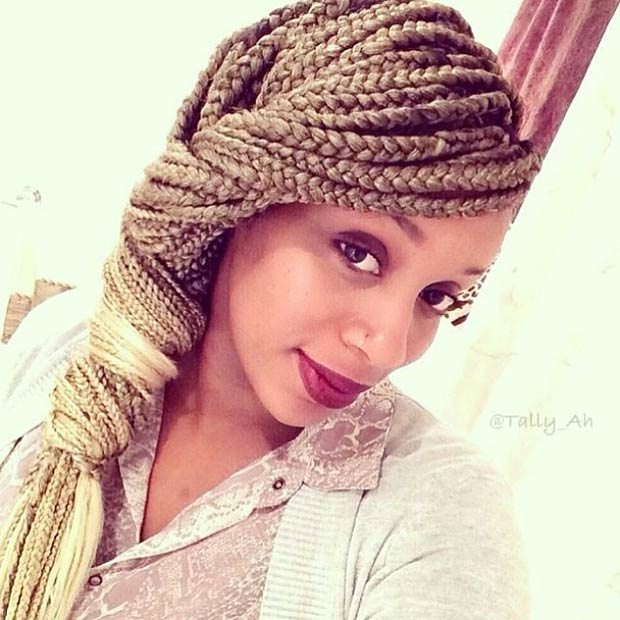 50 Box Braids Hairstyles That Turn Heads StayGlam Page 2