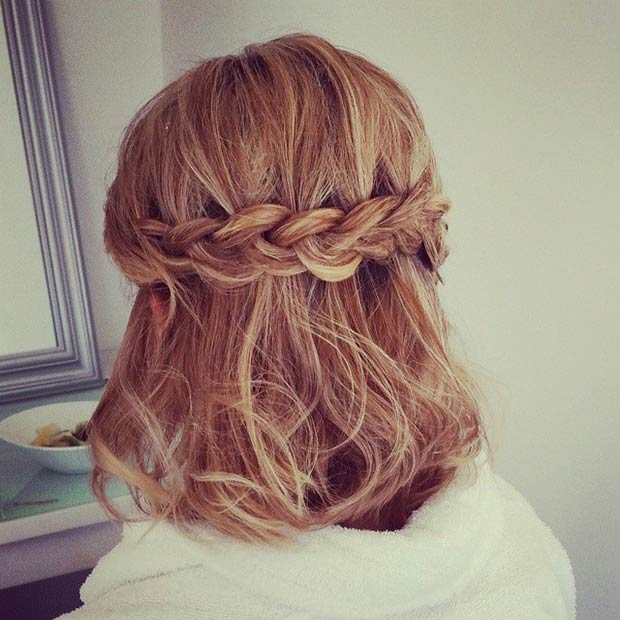 Image Result For Cute Hairstyles For Short Hair For A Wedding
