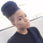 box braids hairstyles turn