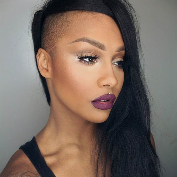 23 Most Badass Shaved Hairstyles For Women StayGlam
